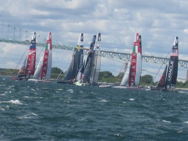 Volvo Race 2015 on Narragansett Bay, Newport, RI